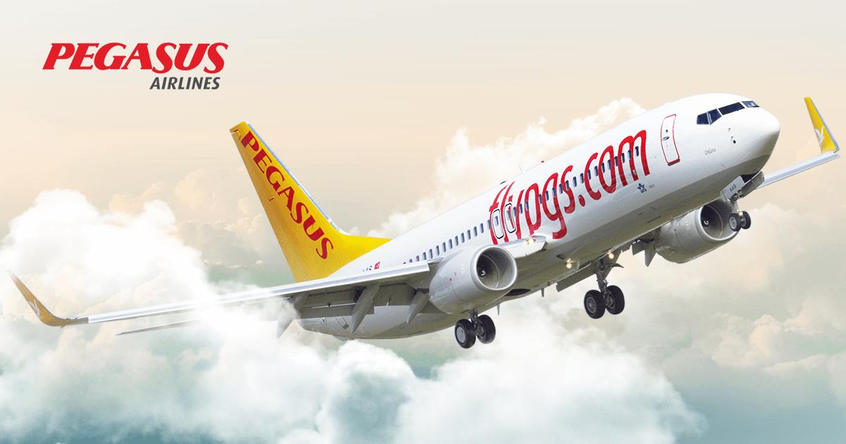 Pegasus Havayolları Yurtiçi ve Yurtdışı Uçuş Noktaları